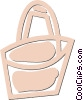 Vector Clip Art graphic  of a pail
