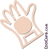 Vector Clipart picture  of a rubber glove