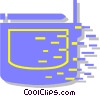 Vector Clipart picture  of a radio