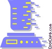 Vector Clip Art graphic  of a mixer/blender