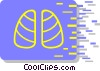 lungs Vector Clipart picture
