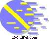 Vector Clip Art image  of a pill