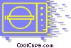vault/safe Vector Clipart image