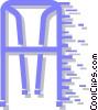 walker Vector Clipart graphic