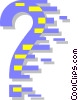 Vector Clipart image  of a question mark
