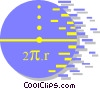 Vector Clipart illustration  of a mathematics