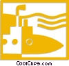 submarine Vector Clipart picture