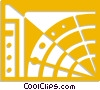 Vector Clip Art image  of an Abstract Designs
