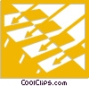 Vector Clip Art graphic  of an Abstract Designs