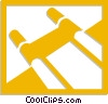 stretcher Vector Clip Art picture