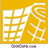 Vector Clip Art image  of a bandage