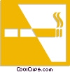 Vector Clipart graphic  of a cigarette