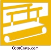 treadmill Vector Clipart picture