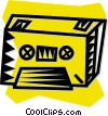 tape cassette Vector Clip Art picture