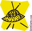 Vector Clipart illustration  of a ufo