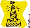 buoy/channel marker Vector Clipart image