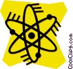 Vector Clipart illustration  of an atoms