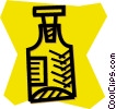 Vector Clipart image  of a medicine bottle