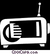radio Vector Clipart illustration