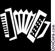 accordion Vector Clipart image