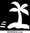 palm tree Vector Clipart illustration