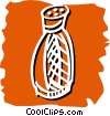 salt/pepper shaker Vector Clip Art graphic