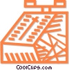 Vector Clip Art graphic  of a scale
