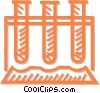 Vector Clip Art picture  of a test tube