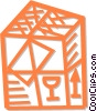 shipping crate Vector Clipart graphic