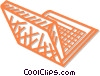 laptop/notebook computer Vector Clip Art image