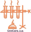 test tube Vector Clip Art picture