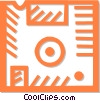 floppy disk Vector Clip Art graphic