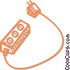 power bar Vector Clip Art graphic