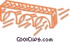 Vector Clipart graphic  of a bridge