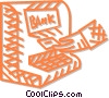 Vector Clipart graphic  of a bank machine