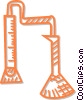 Vector Clip Art graphic  of a test tube