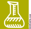 test tube Vector Clipart picture