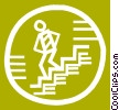 Stairs Vector Clipart illustration