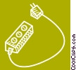 Power Bars Vector Clipart picture
