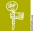 Crossing Guards Vector Clip Art picture