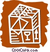 Crates, Boxes, Shipments Vector Clip Art image