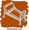Stretchers and Hospital Beds Vector Clipart image