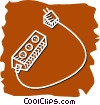 Vector Clipart graphic  of a Power Bars