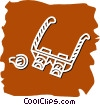 Vector Clipart image  of a jeweler's glasses