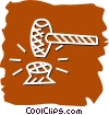 Gavels Vector Clip Art picture
