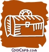 Vector Clip Art graphic  of a Doctor's Bag
