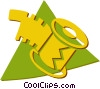 Vector Clip Art image  of a film roll