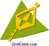 kite Vector Clip Art graphic