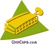 Vector Clipart graphic  of a harmonica