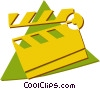 Vector Clipart picture  of a clapper board
